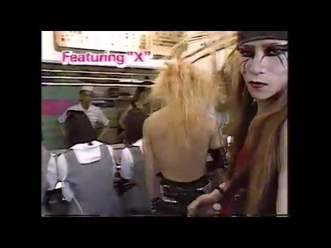 X JAPAN 伝説の「やしろ食堂 LIVE」 HIDEが加入後はじめての仕事といわれる『元気が出るテレビ』出演(1987年7月19日)