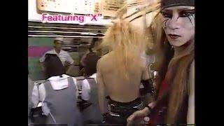 X JAPAN 伝説の「やしろ食堂 LIVE」 /『元気が出るテレビ』出演(1987...