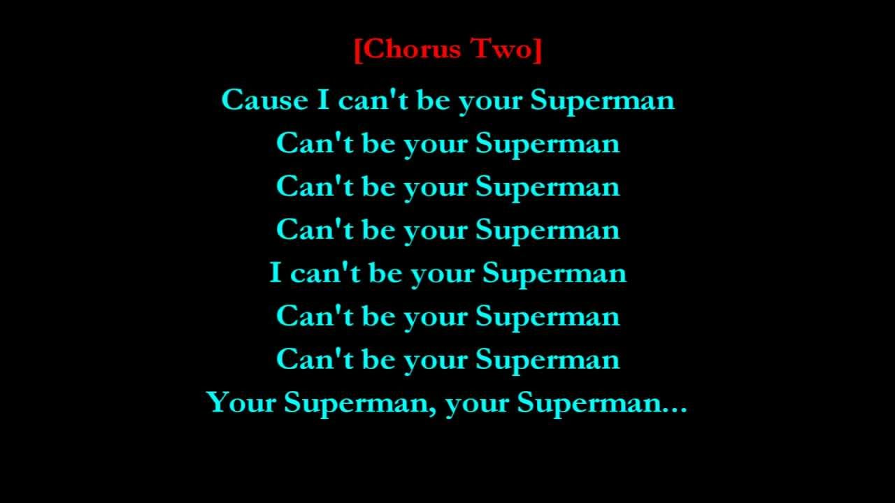 My Superman Lyrics