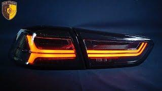 Тюнинг задние фонари Митсубиси Лансер 10 / Taillights Mitsubishi Lancer 10