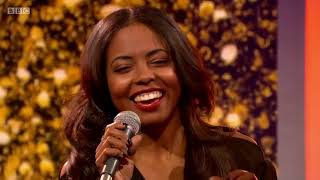 Adrienne Warren performing The Best from Tina- The Tina Turner Musical live on The One Show.