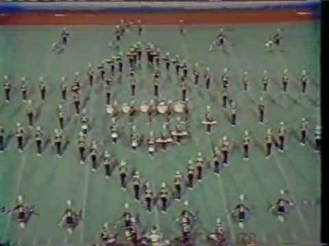 1984 North Hardin High School Marching Band at MTSU Contest of Champions