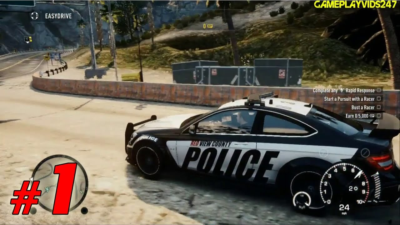 Need For Speed Rivals Police Patrol Walkthrough Part 1