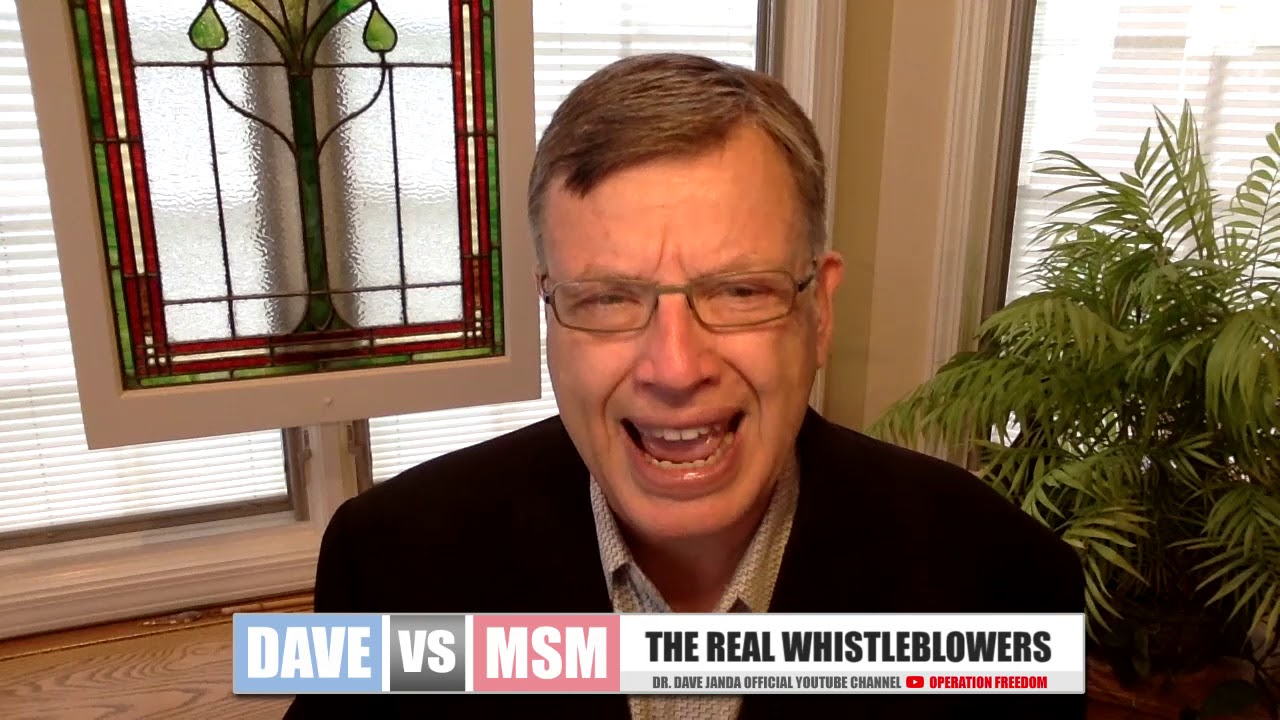 Operation Freedom Dave vs. MSM - The Real Whistleblowers: President Trump, General Flynn, and Sidney