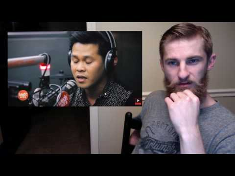 """Marcelito Pomoy sings """"The Prayer""""  LIVE on Wish 107.5 Bus ((*REAction*))"""