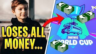 FaZe H1GHSKY1 Loses All the Money He Earned in Fortnite Tournaments...