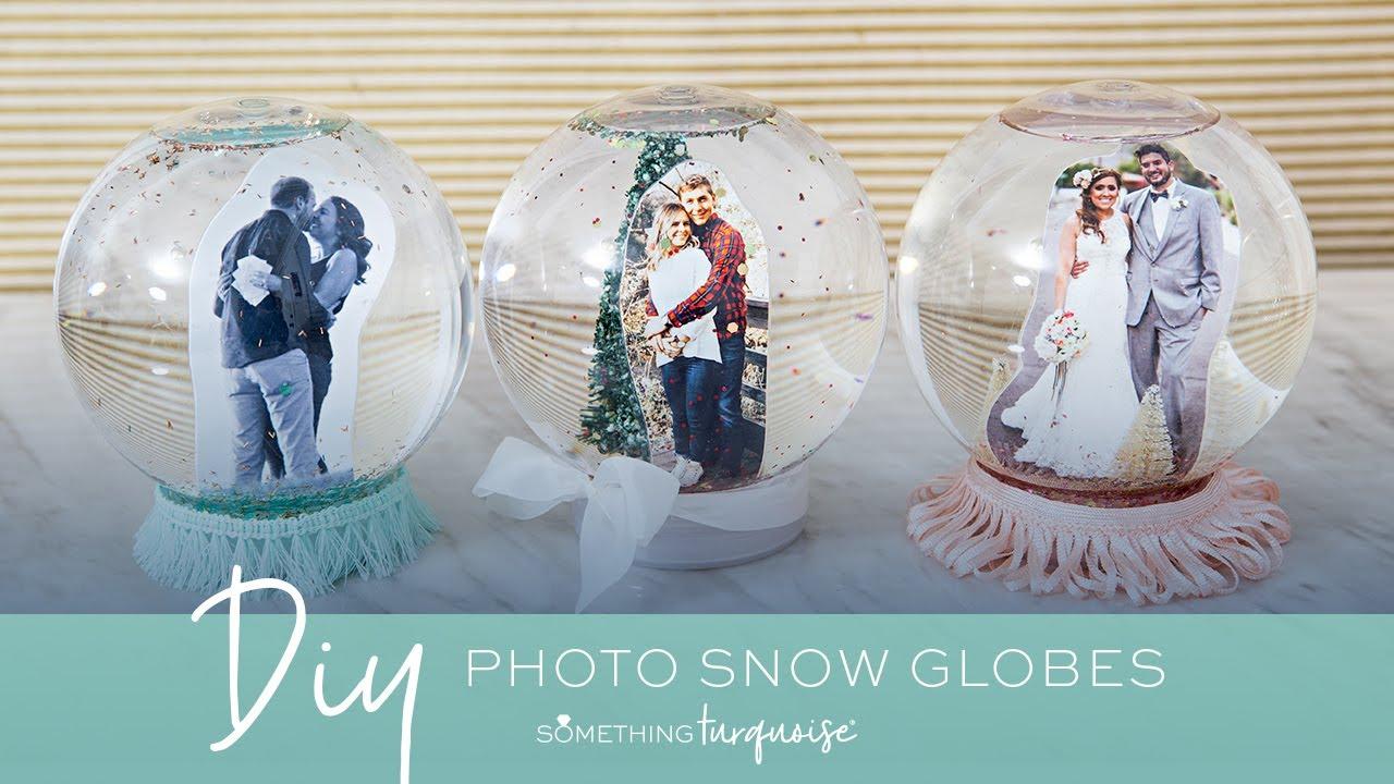 How To Make A Photo Snow Globe
