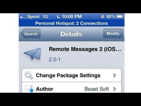 Remote Messages 2 for iOS 6 Review