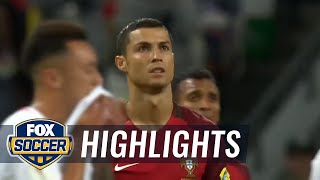 Portugal vs. Chile | 2017 FIFA Confederations Cup Highlights