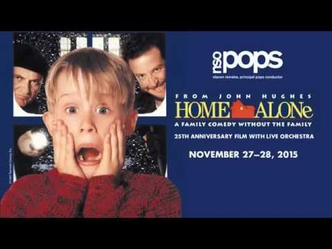 "Steven Reineke previews ""NSO Pops: Home Alone: 25th Anniversary Film with Live Orchestra"""
