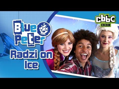 Blue Peter presenter meets Elsa and Anna from Frozen - CBBC Blue Peter