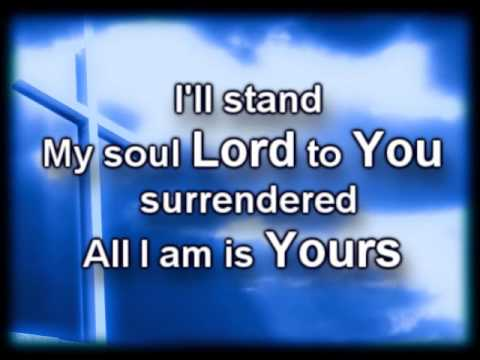 The Stand - Hillsong - Worship Video with lyrics