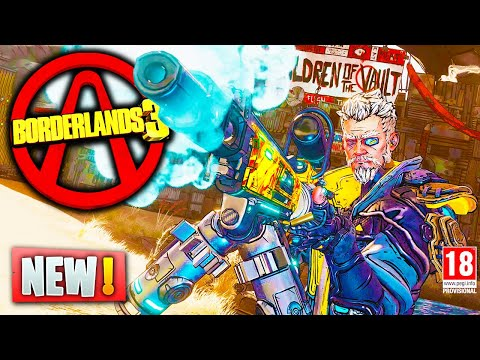 Borderlands 3 NEW GAMEPLAY & UPDATES - Vault Hunters, Level Sync Loot System & More (Borderlands 3) thumbnail