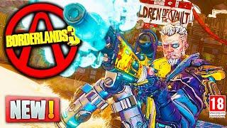 Borderlands 3 NEW GAMEPLAY & UPDATES - Vault Hunters, Level Sync Loot System & More (Borderlands 3)