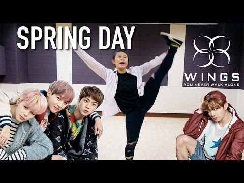 BTS '봄날 (Spring Day)' Dance Tutorial | Full Mirrored [Charissahoo]