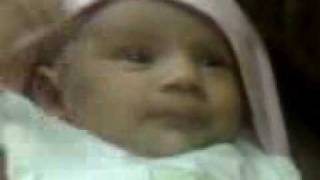 Areej Ali cute baby of Pakistan born on 09/11 2009 at Karachi, Pakistan.
