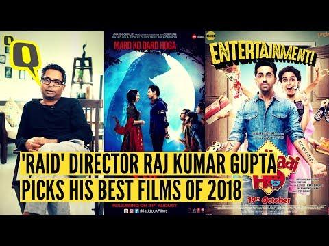 'Raid' Director Raj Kumar Gupta Picks His Favourite Films of 2018