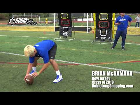 Brian McNamara - Long Snapper
