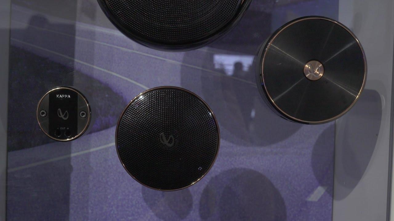 infinity kappa speakers. 2017 infinity kappa speakers | ces crutchfield video