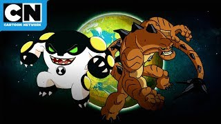 Alien World Shorts: Beach Bro Brouhaha | Ben 10 | Cartoon Network