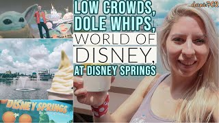 No Crowds & Dole Whips at Disney Springs | World of Disney is OPEN