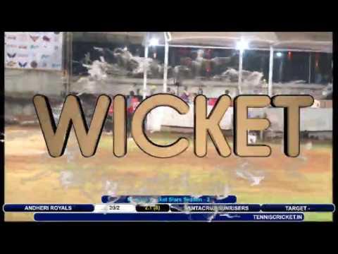 ANDHERI ROYALS VS SANTACRUZ SUNRISERS | Mumbai Cricket Stars Season - 2