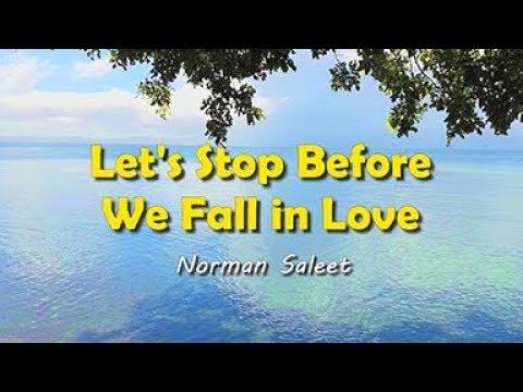 Let's Stop Before We Fall In Love - KARAOKE