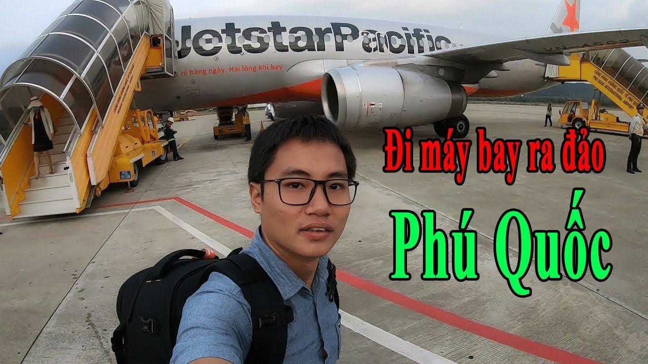 [Vlog 6] Lần đầu đi máy bay ra đảo Phú Quốc