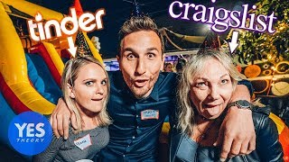 Throwing a Party for Strangers from the Internet!! (Craigslist,Tinder and Bumble)