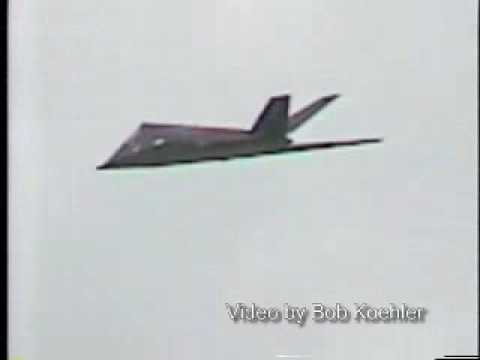 F117 Stealth Jet Crash