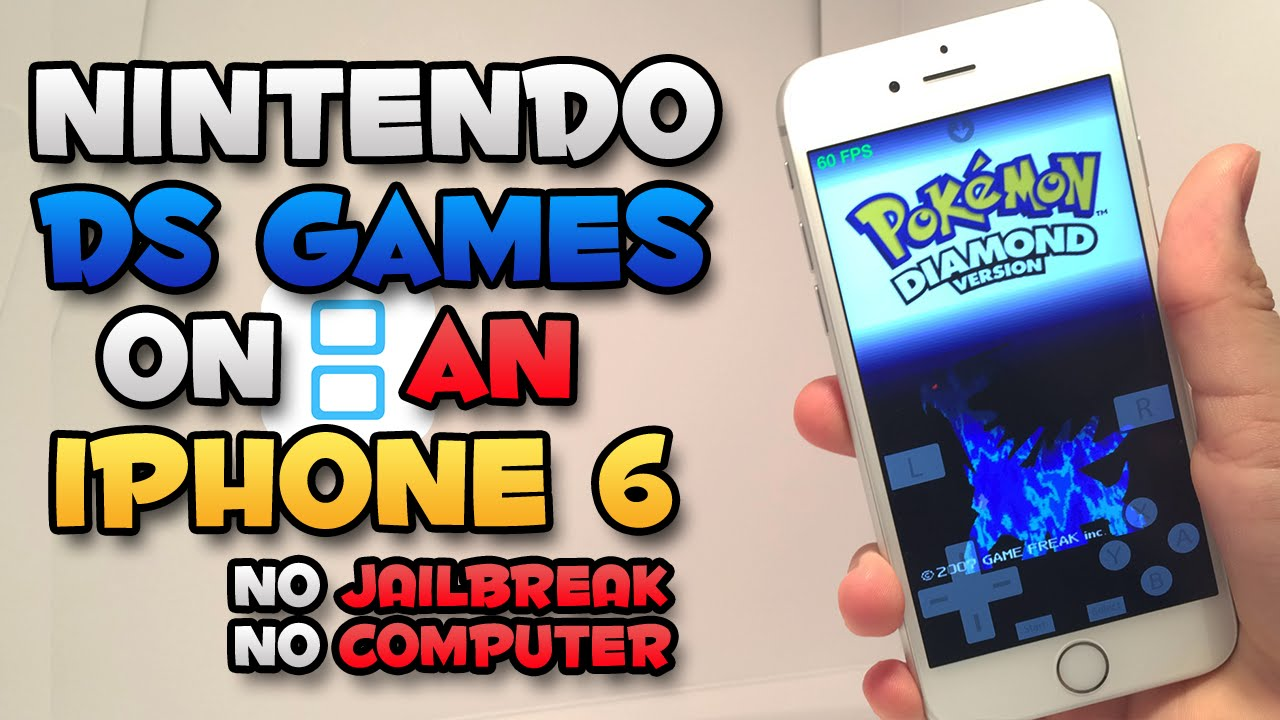 HOW TO  Install NDS4iOS Nintendo Emulator on iPhone, iPad and iPod Touch without Jailbreak