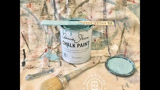 Getting Started: Painting with Chalk Type Furniture Paint