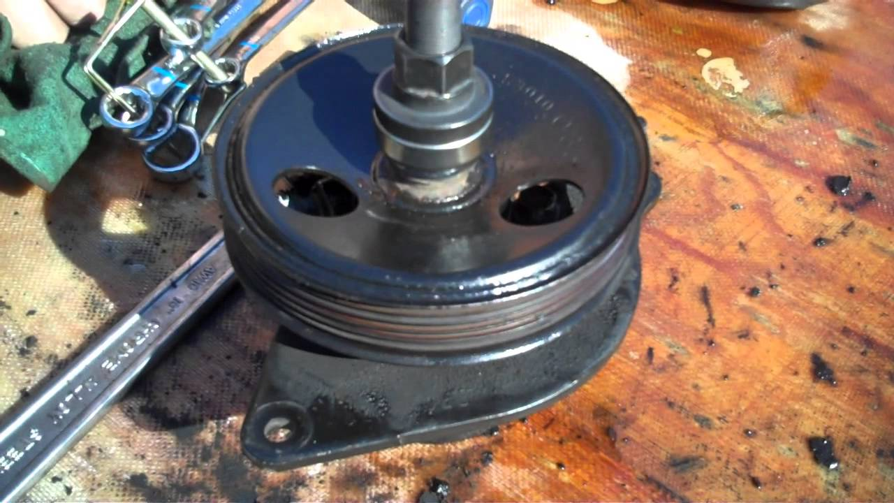 medium resolution of 1995 jeep grand cherokee power steering pump change in detail youtube
