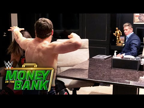 AJ Styles And Daniel Bryan Brawl In Mr. McMahon's Office: WWE Money In The Bank 2020 (WWE Network)
