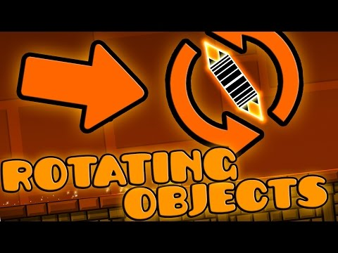 HOW TO MAKE ROTATING OBJECTS! - 2.1 Geometry Dash Editor