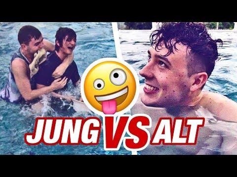 JUNG VS. ALT | CHALLENGE 👶🏻👨🏻 (mit SimonWill, CrispyRob & Falco)
