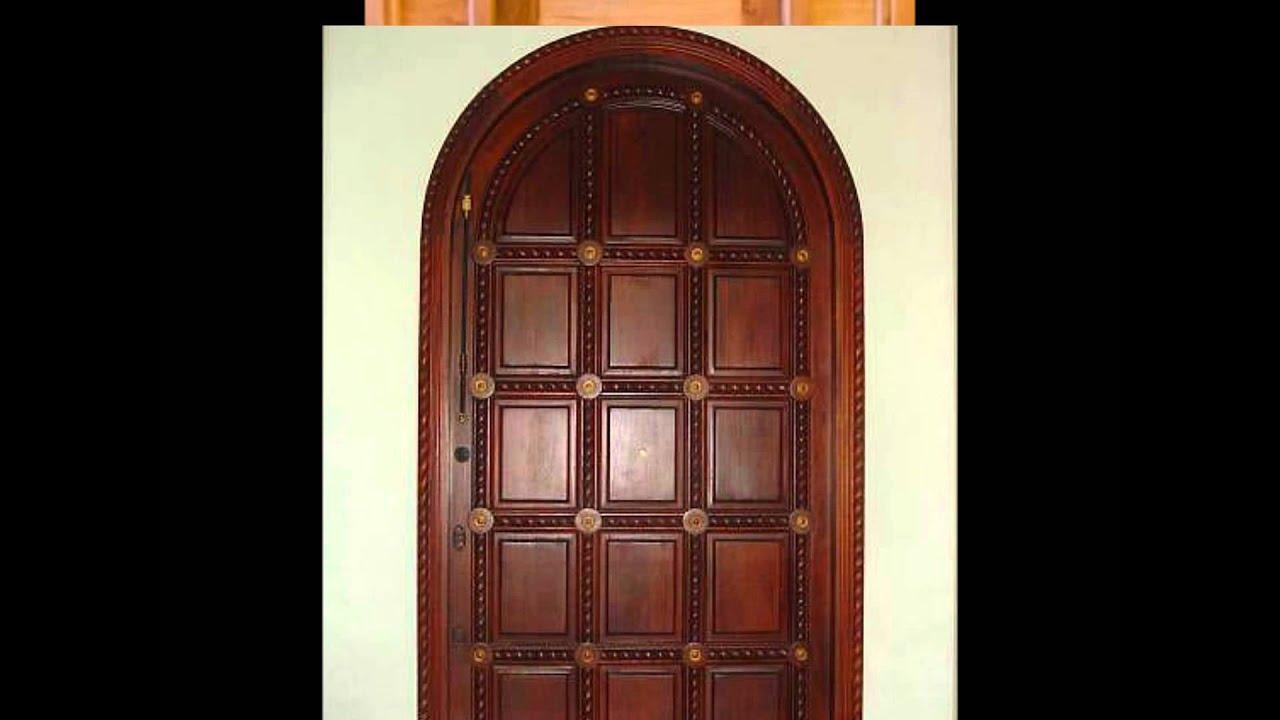 Elaboracion de puertas en madera girardot y la region for Arcos de madera para puertas