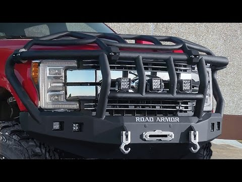 Off Road Bumpers F150 >> Road Armor Lifetime Off-Road Bumpers - YouTube
