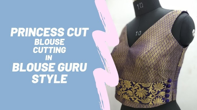 How To Sew Princess Cut Blouse Sewing Tutorial Youtube