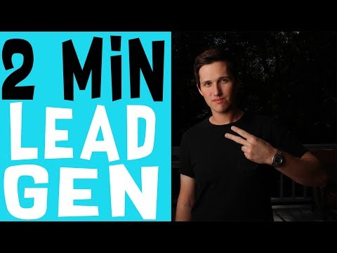 Start A Lead Generation Business In 2 Minutes FLAT!