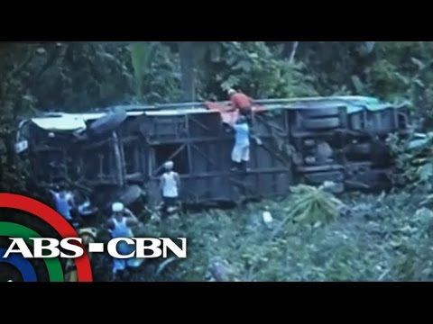 Bus Accident Kills 3 In Quezon