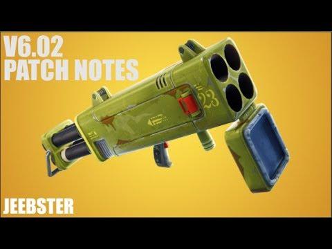 V6.02 Patch Notes (FORTNITE)