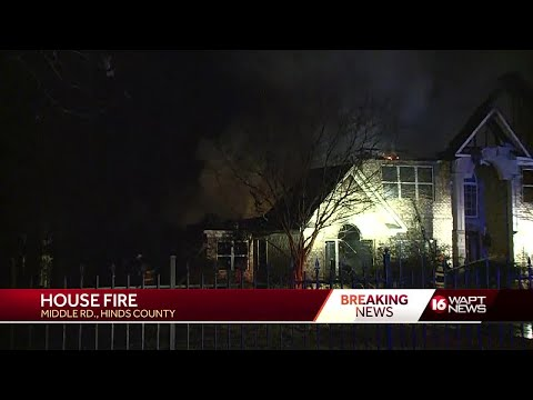 Hinds County House Fire
