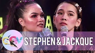 Jackque and Stephen act as Kadenang Ginto\'s Cassie and Marga | GGV