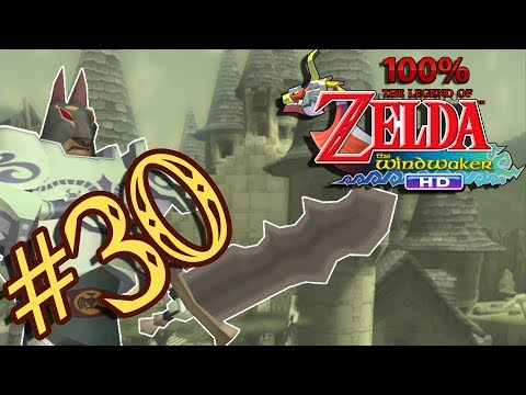 Hyrule Castle & The Master Sword - The Legend of Zelda The Wind Waker HD 100% - Part 30