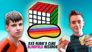 Top 10 5x5 Rubik's Cube Blindfolded Speedcubers 2016