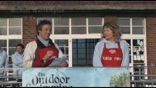 The Outdoor Swimming Society Festive Dip with Ben Fogle & Owen Sheers 2009