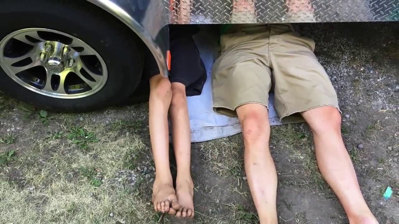 Cargo trailer to camper conversion build