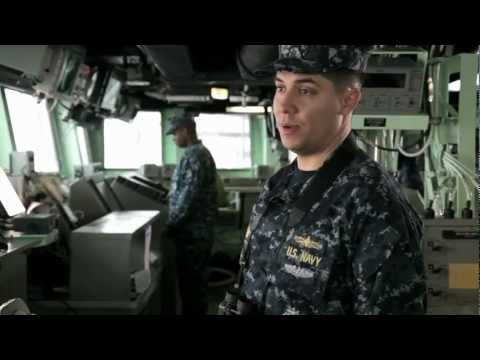 Surface Warfare Officer - LT Sean Gannon