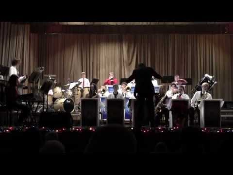 Braddock Middle School Jazz Ensemble 12/15/14 - Feliz Navidad